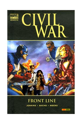 CIVIL WAR: FRONT LINE  (MARVEL DELUXE)