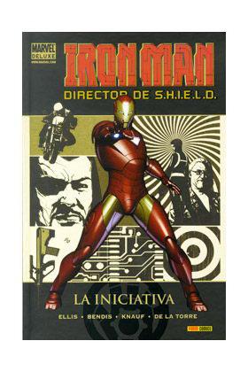 IRON MAN: DIRECTOR DE SHIELD 01. LA INICIATIVA (MARVEL DELUXE)