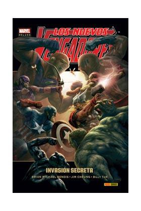 LOS NUEVOS VENGADORES 09: INVASION SECRETA (MARVEL DELUXE)