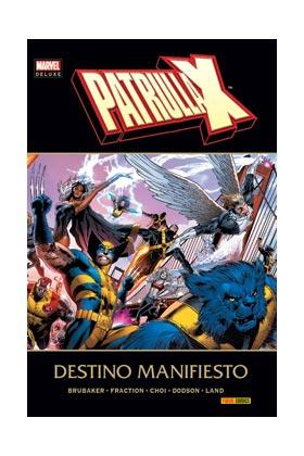 LA PATRULLA-X DESTINO MANIFIESTO  (MARVEL DELUXE)