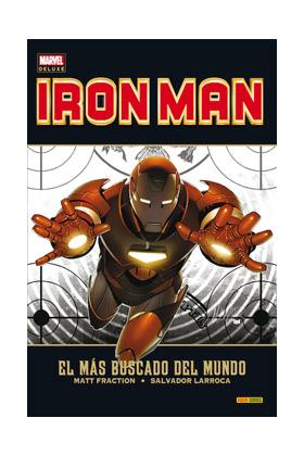 INVENCIBLE IRON MAN 02. EL MAS BUSCADO DEL MUNDO (MARVEL DELUXE)