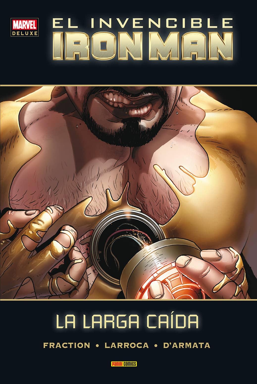 INVENCIBLE IRON MAN 07. LA LARGA CAIDA  (MARVEL DELUXE)
