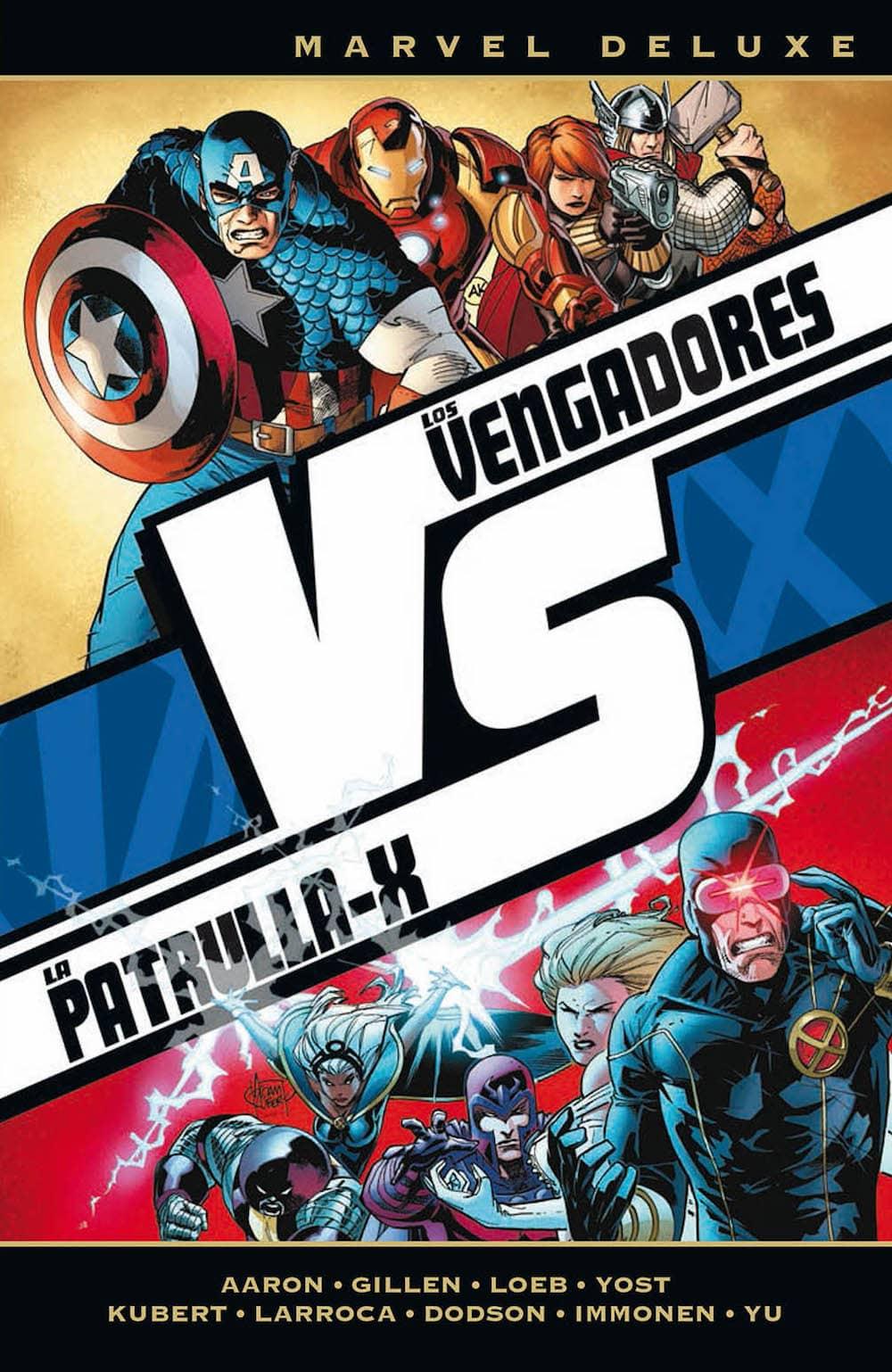 LOS VENGADORES VS LA PATRULLA-X : VS  (MARVEL DELUXE)
