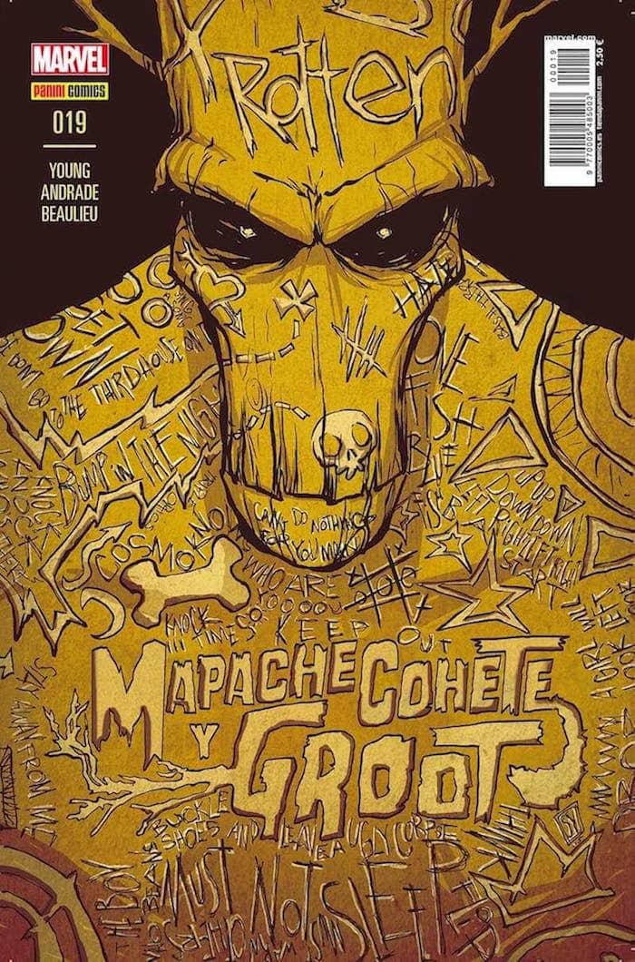 MAPACHE COHETE Y GROOT  # 19