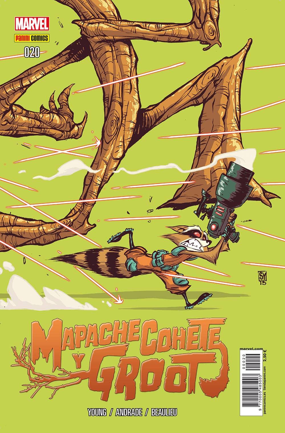 MAPACHE COHETE Y GROOT  # 20