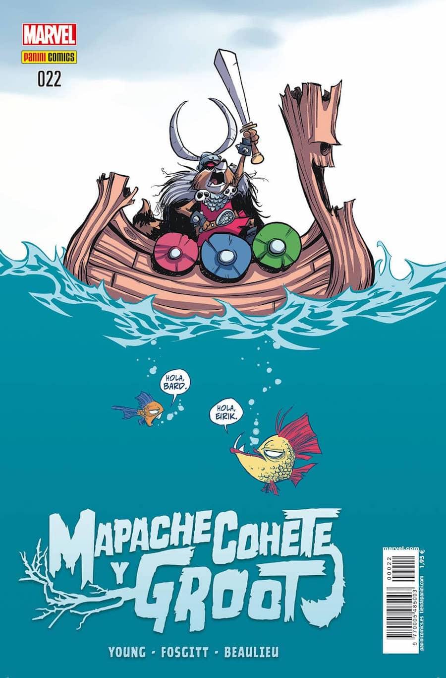 MAPACHE COHETE Y GROOT  # 22