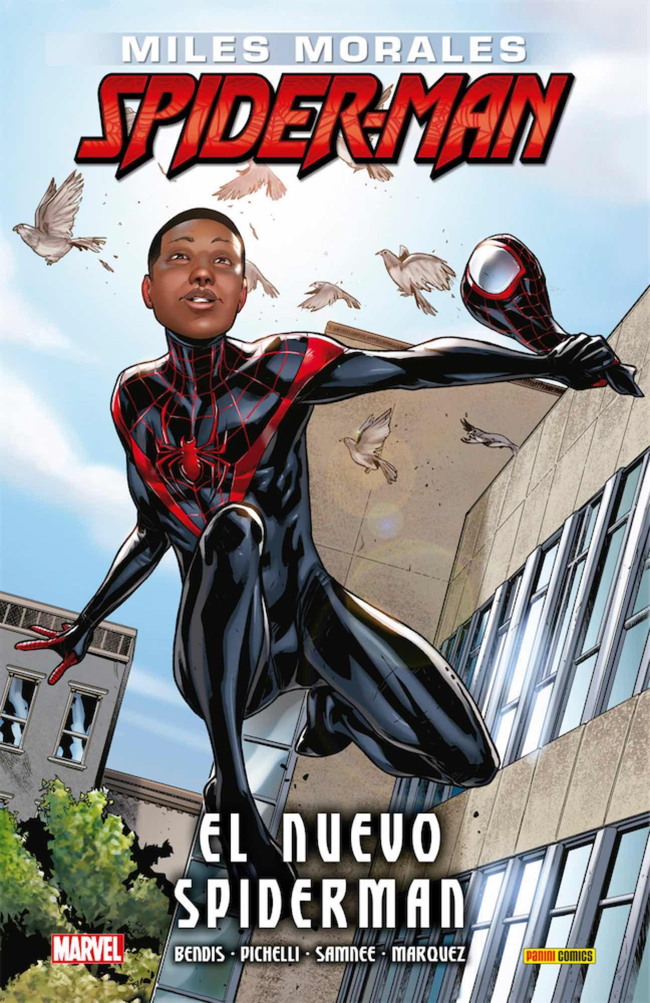 ULTIMATE INTEGRAL. MILES MORALES 01 SPIDERMAN. EL NUEVO SPIDERMAN