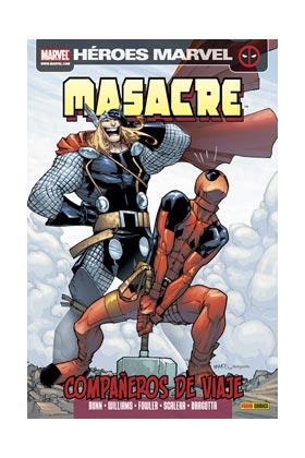 MASACRE 09. COMPAÑEROS DE VIAJE