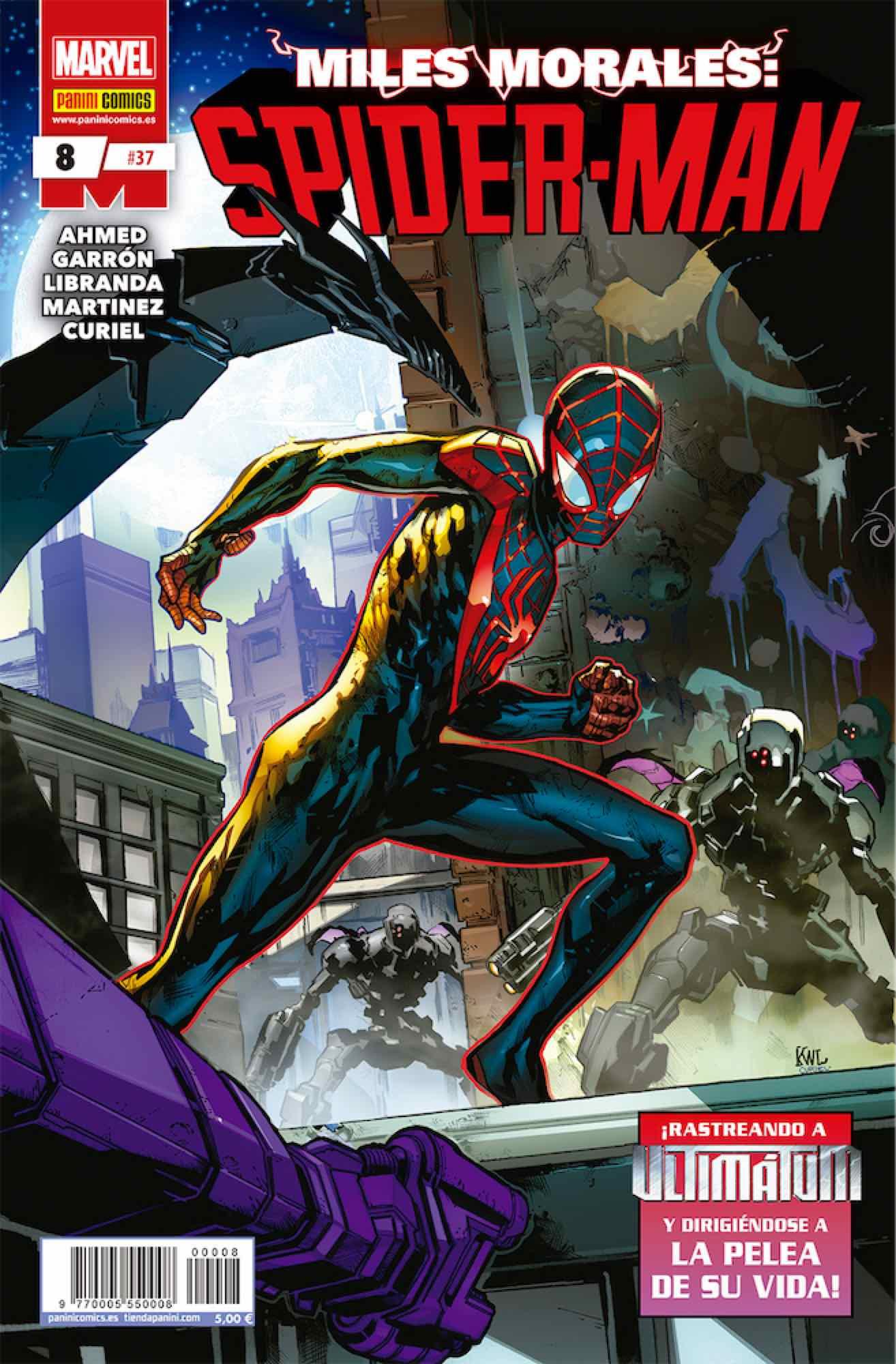 MILES MORALES: SPIDER-MAN 08