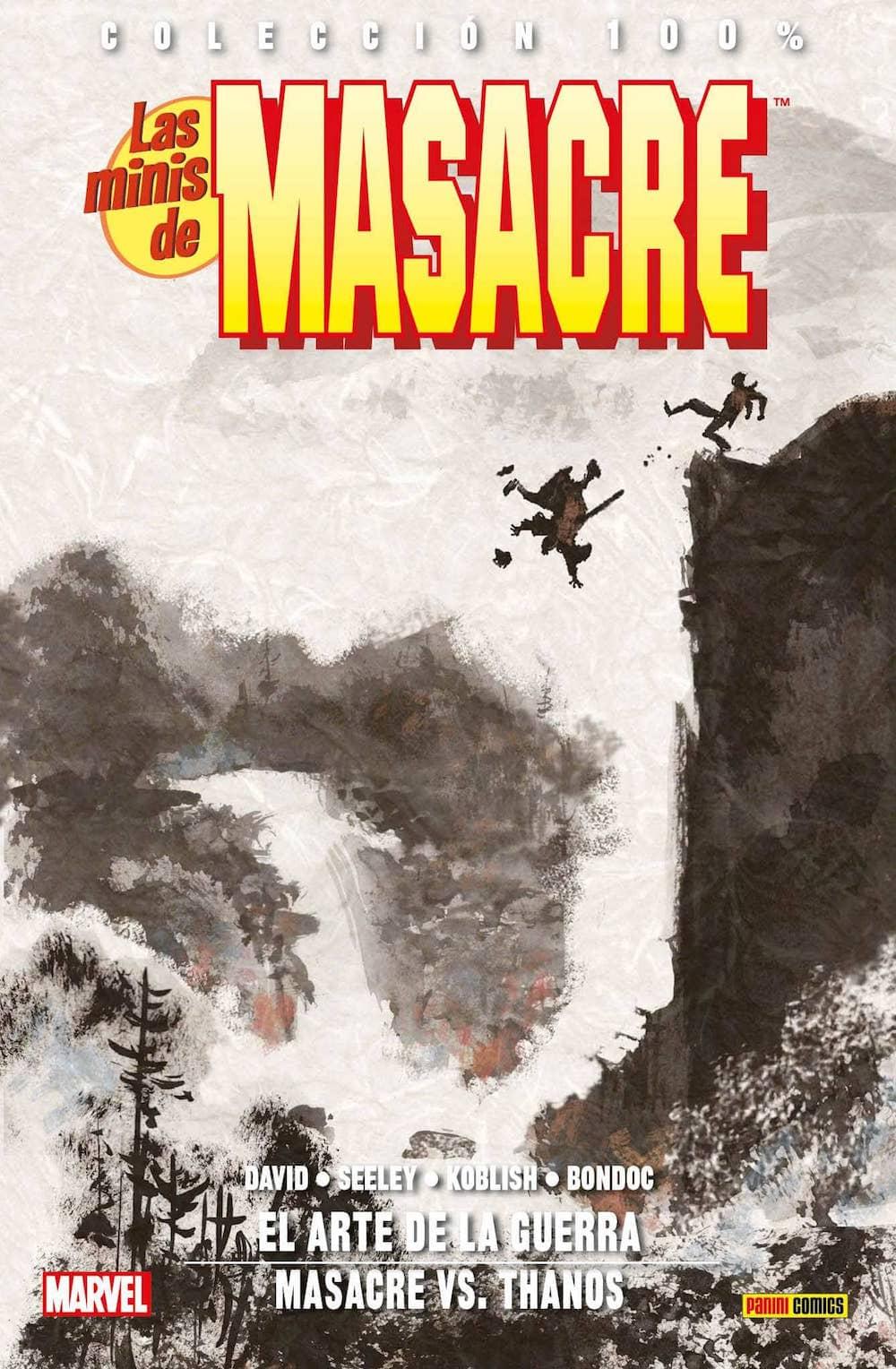LAS MINIS DE MASACRE 06: EL ARTE DE LA GUERRA VS THANOS