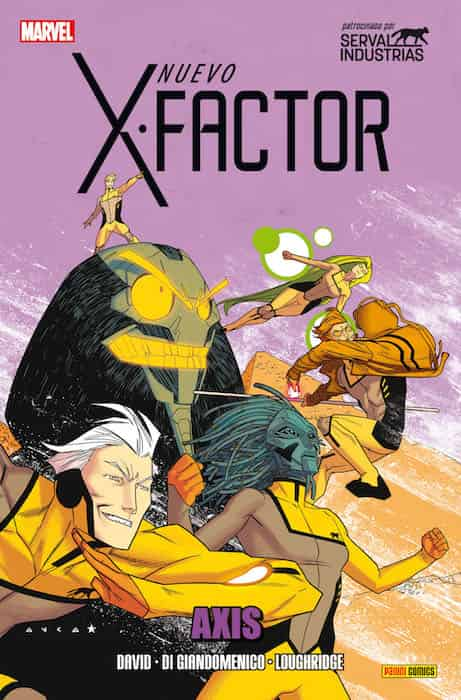 NUEVO X-FACTOR VOL 2  10. AXIS