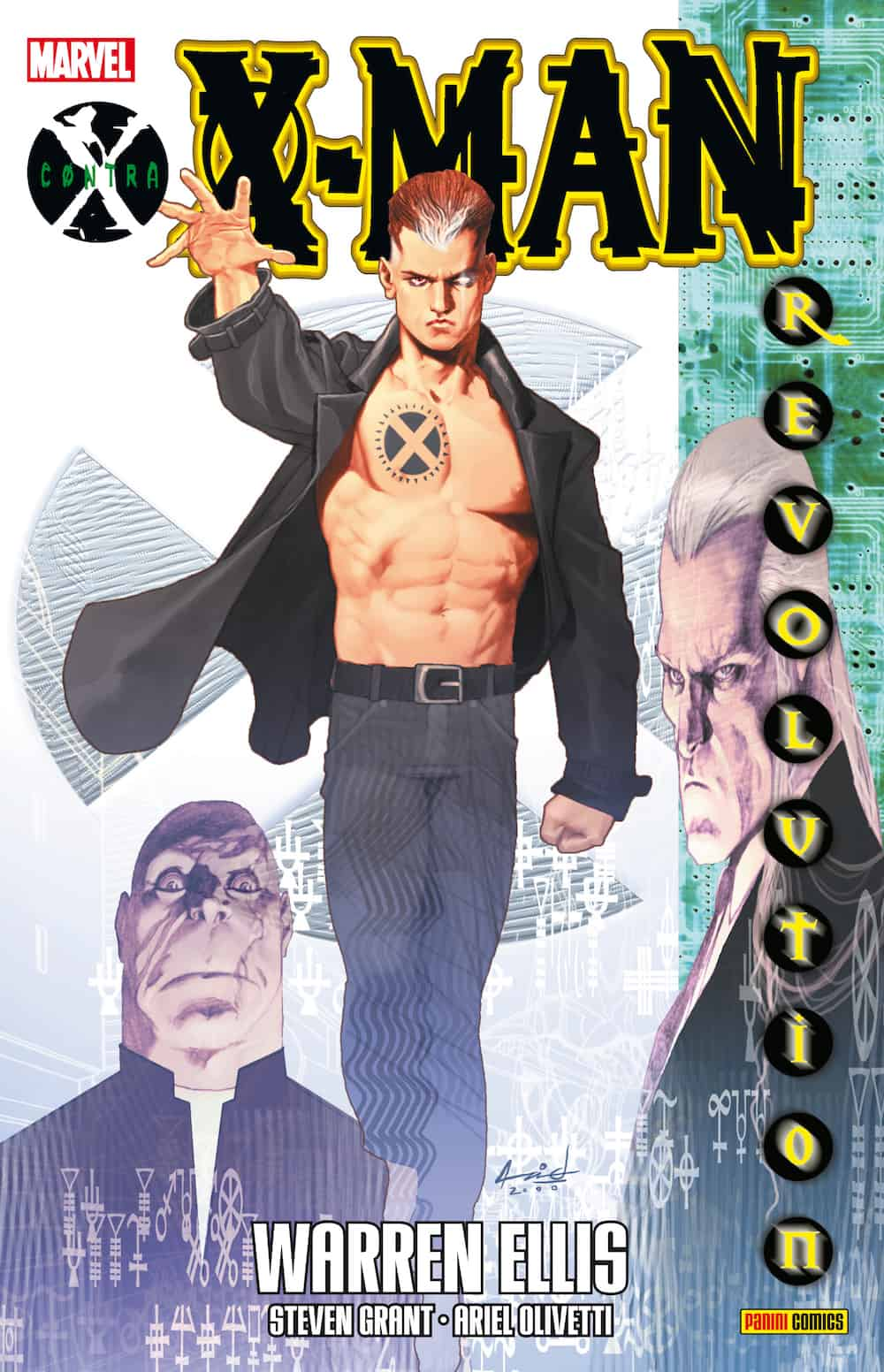 CONTRA X: X-MAN