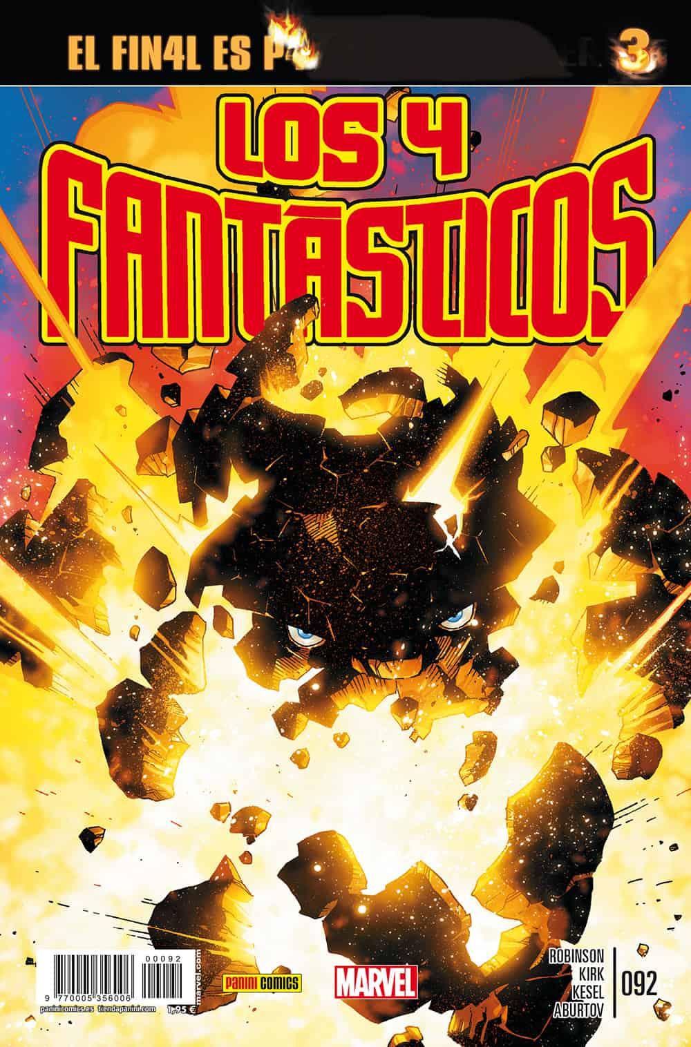 LOS 4 FANTASTICOS VOL. 7 092