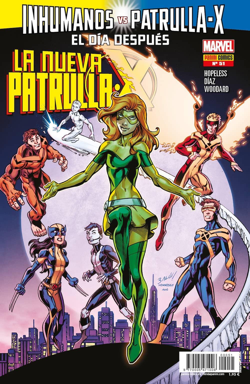LA NUEVA PATRULLA-X 51
