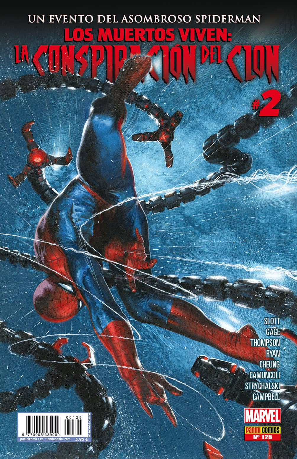 EL ASOMBROSO SPIDERMAN 125