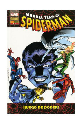 MARVEL TEAM-UP SPIDERMAN 13. JUEGO DE PODER!