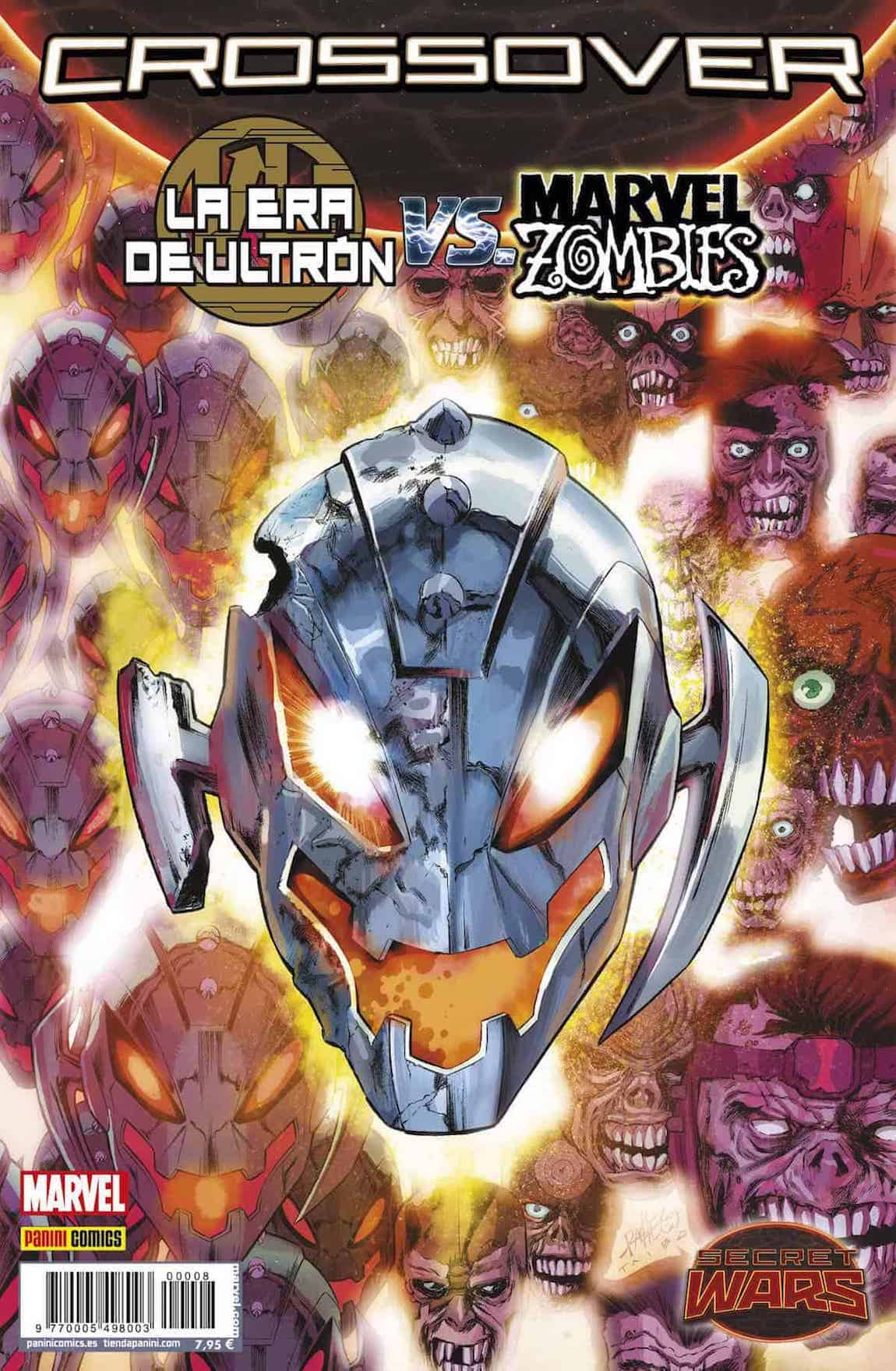 SECRET WARS. CROSSOVER 08. LA ERA DE ULTRON VS. MARVEL ZOMBIES