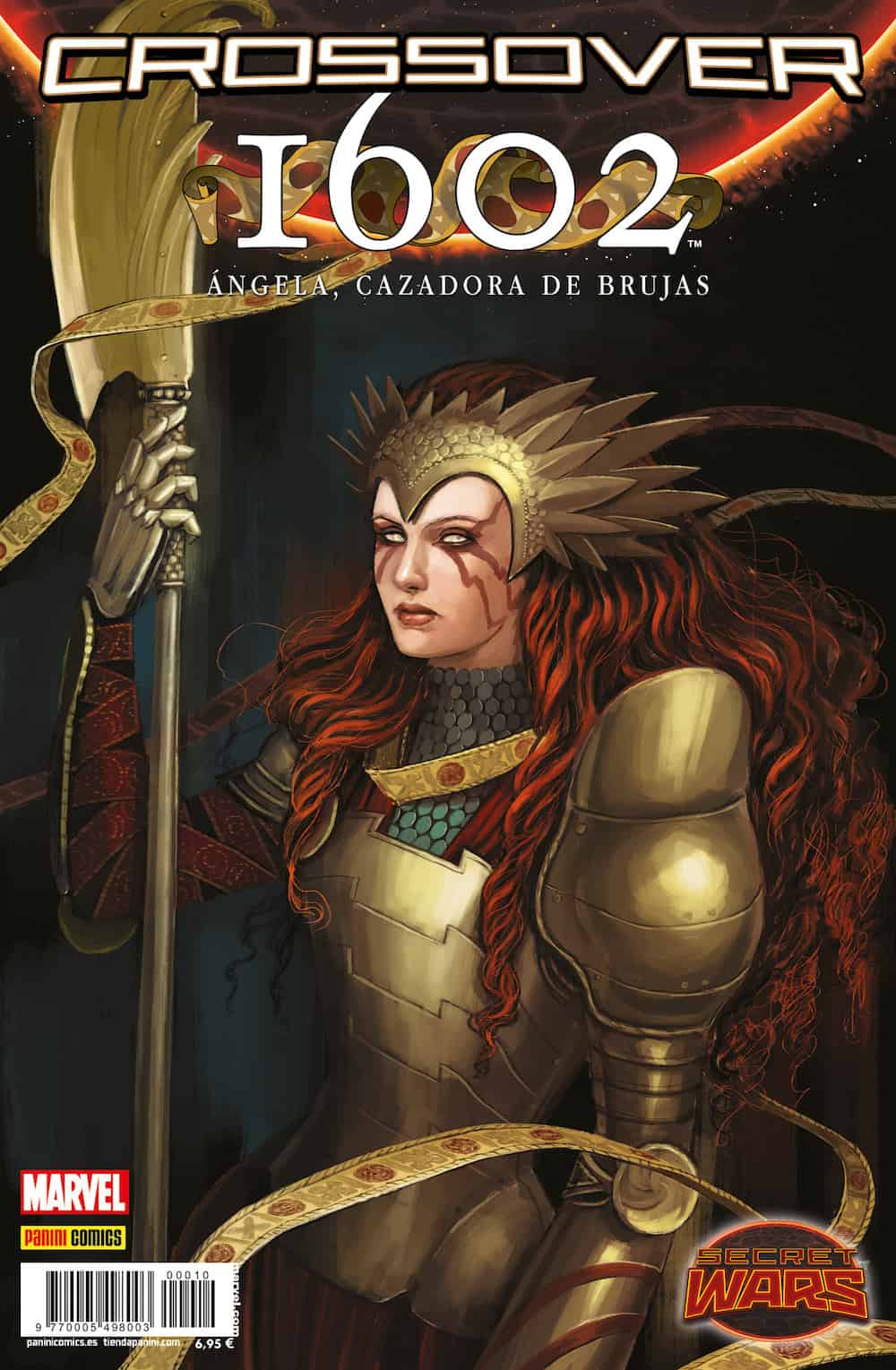 SECRET WARS. CROSSOVER 10. 1602: ANGELA, CAZADORA DE BRUJAS