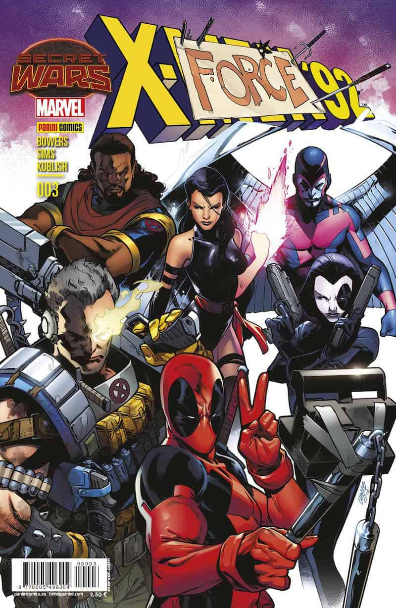 SECRET WARS. X-MEN 092 03