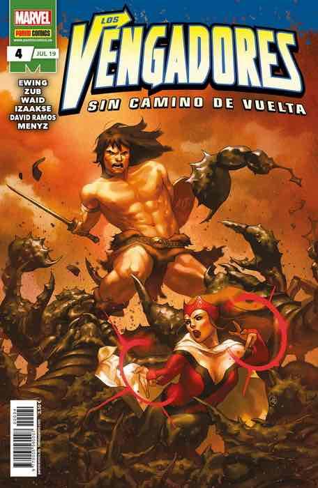 LOS VENGADORES: SIN CAMINO DE VUELTA 04