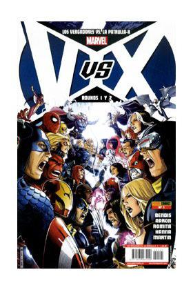 VVX: VENGADORES VS PATRULLA-X 01 (PORT. A)