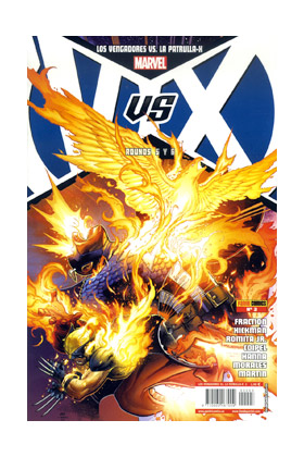 VVX: VENGADORES VS PATRULLA-X 03 (PORT. A)