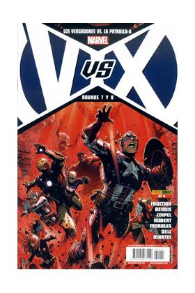 VVX: VENGADORES VS PATRULLA-X 04 (PORT. A)