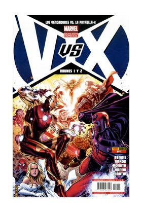 VVX: VENGADORES VS PATRULLA-X 01 (PORT. B)