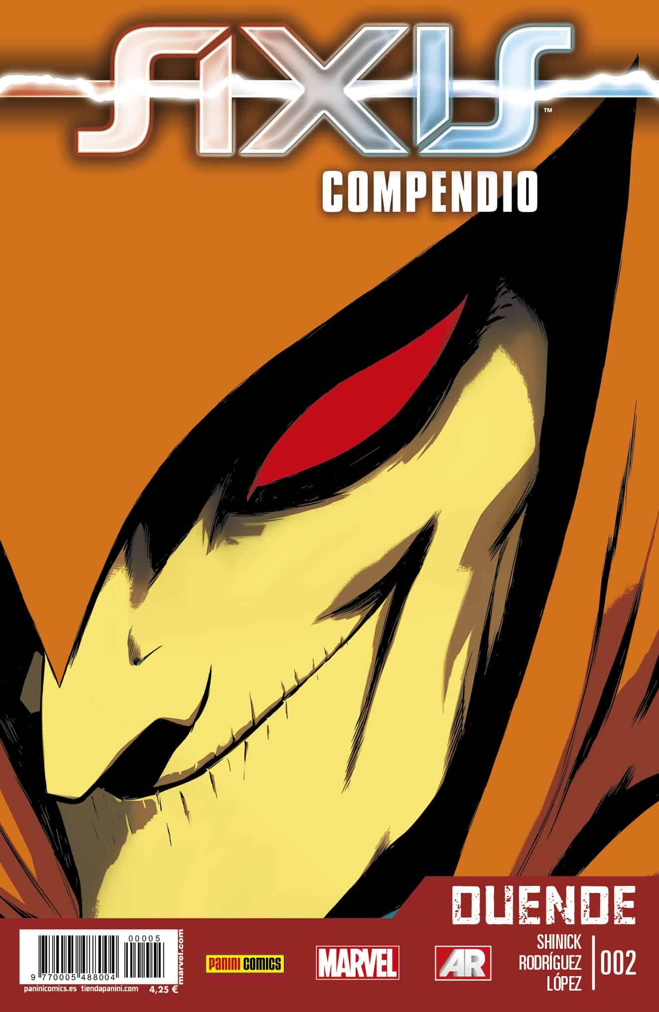 AXIS COMPENDIO DUENDE 02 (VENGADORES Y PATRULLA-X)