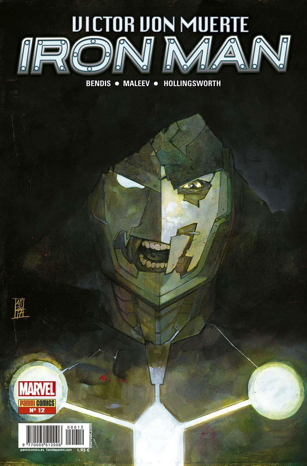VICTOR VON MUERTE: IRON MAN 12