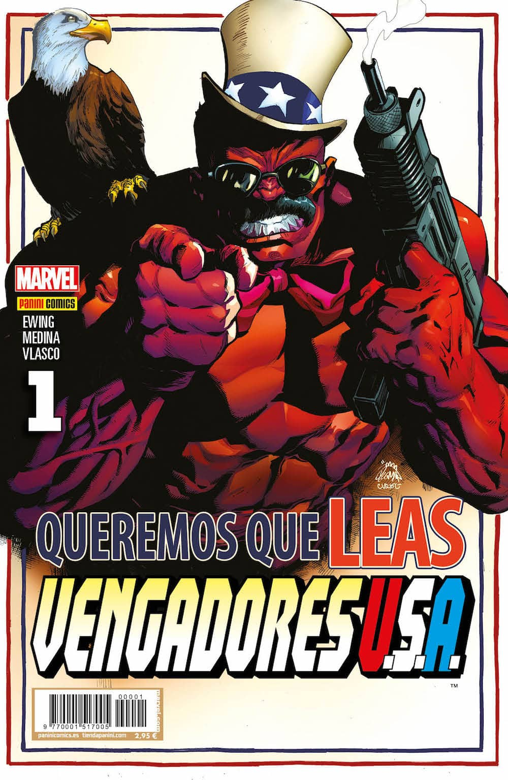 VENGADORES USA 01 (PORTADA ALTERNATIVA)
