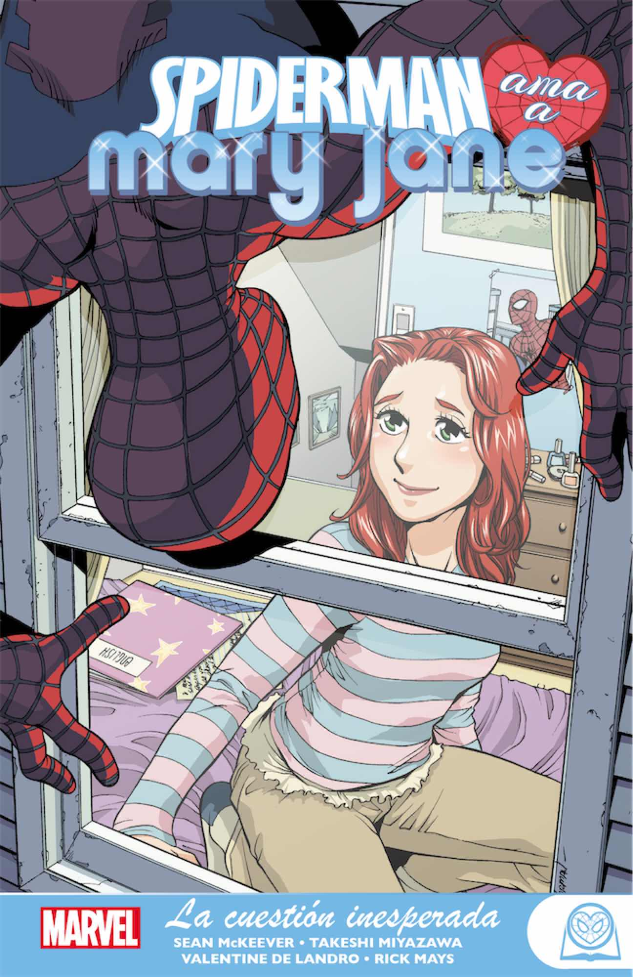 MARVEL YOUNG ADULTS. SPIDERMAN AMA A MARY JANE 02. LA CUESTION INESPERADA