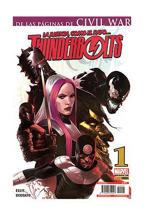 THUNDERBOLTS VOL.2 001