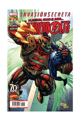 THUNDERBOLTS VOL.2 015 (INVASION SECRETA)