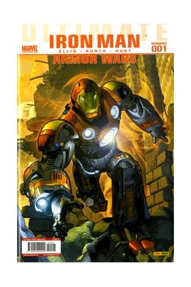ULTIMATE IRON MAN: ARMOR WARS 001