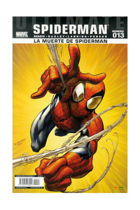 ULTIMATE SPIDERMAN 013 (LA MUERTE DE SPIDERMAN)