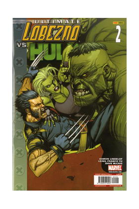 ULTIMATE LOBEZNO VS. HULK 02