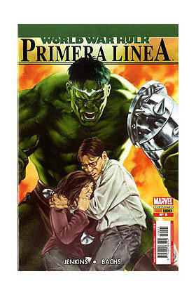 WORLD WAR HULK: PRIMERA LINEA 05 (ULTIMO NUMERO)