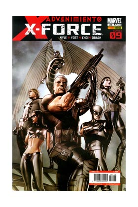 X-FORCE VOL.3 028 (ADVENIMIENTO CAP. 09)
