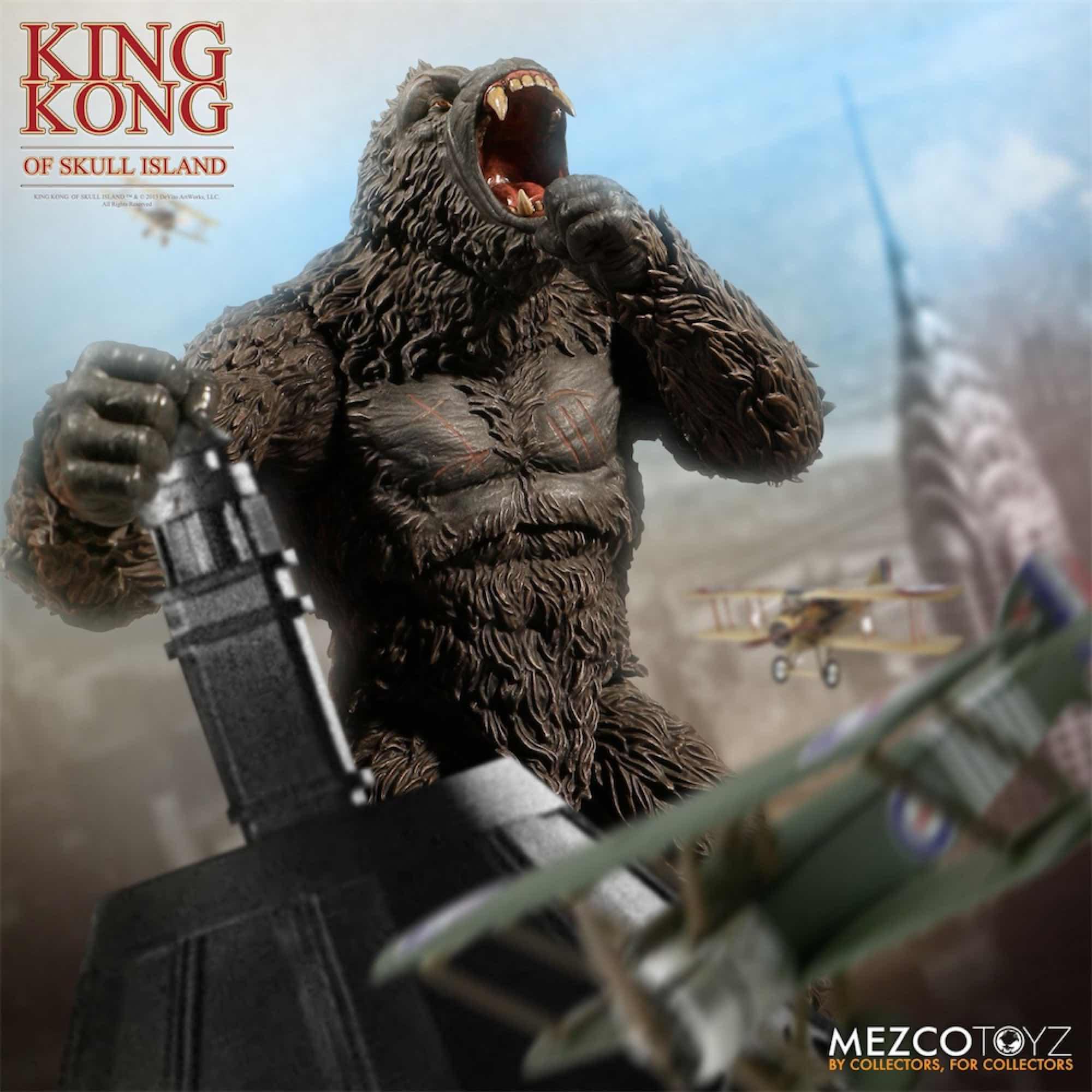 KING KONG FIGURA 18 CM KONG SKULL ISLAND