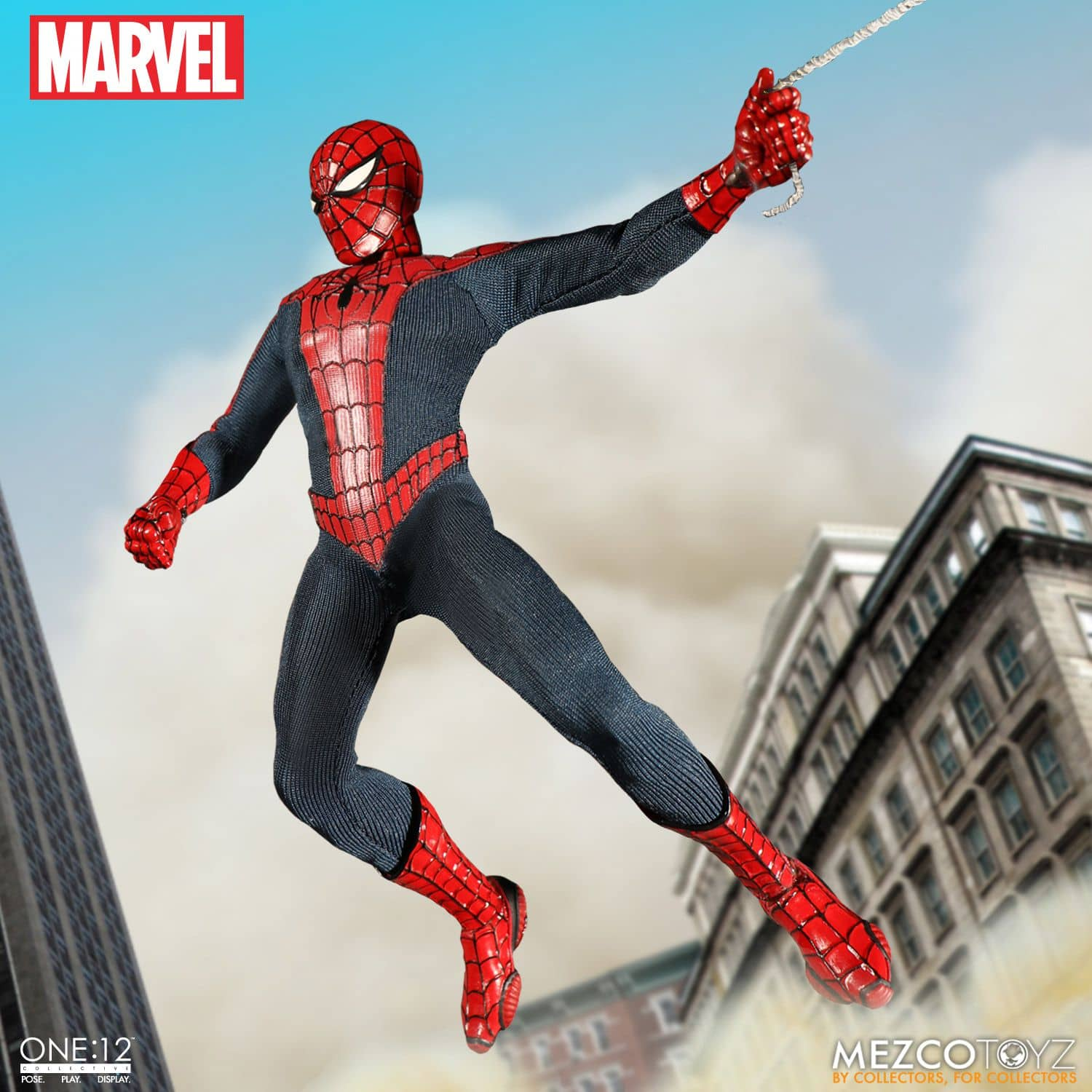 SPIDER-MAN FIGURA 24 CM MARVEL THE ONE:12 COLLECTIVE