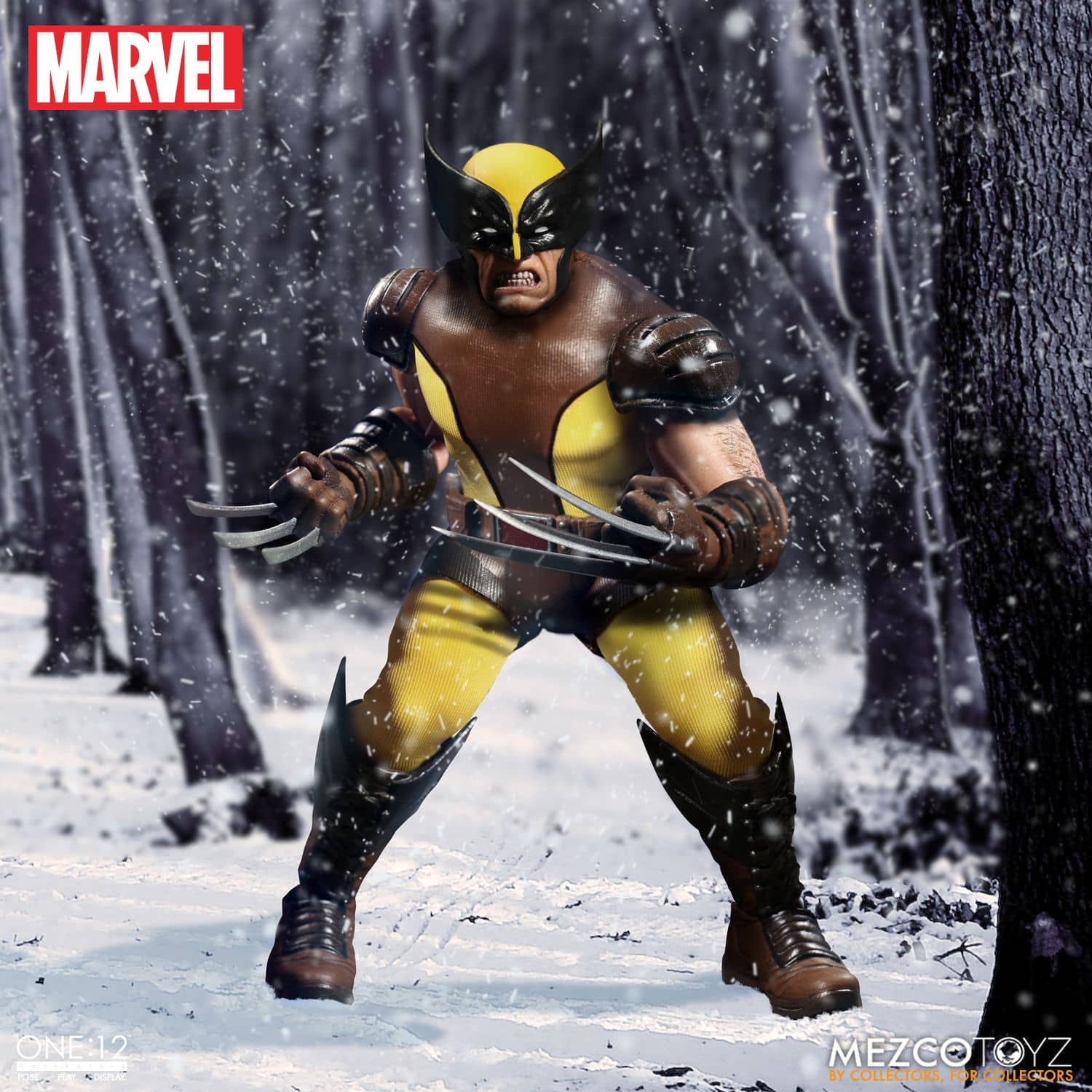 LOBEZNO FIGURA 15 CM MARVEL THE ONE:12 COLLECTIVE