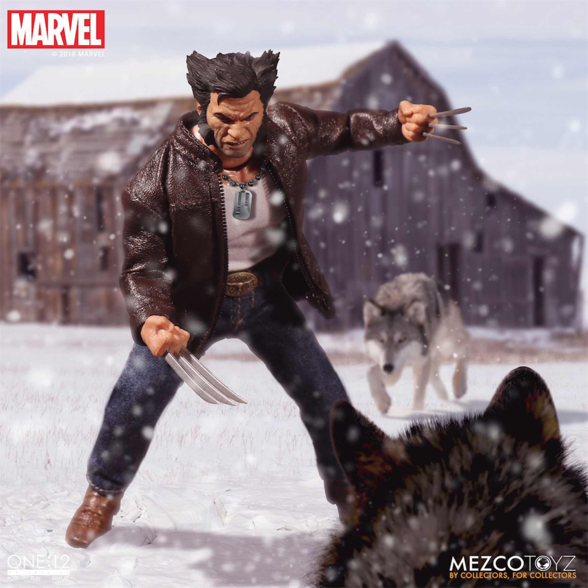 LOGAN FIGURA 16 CM MARVEL THE ONE:12 COLLECTIVE