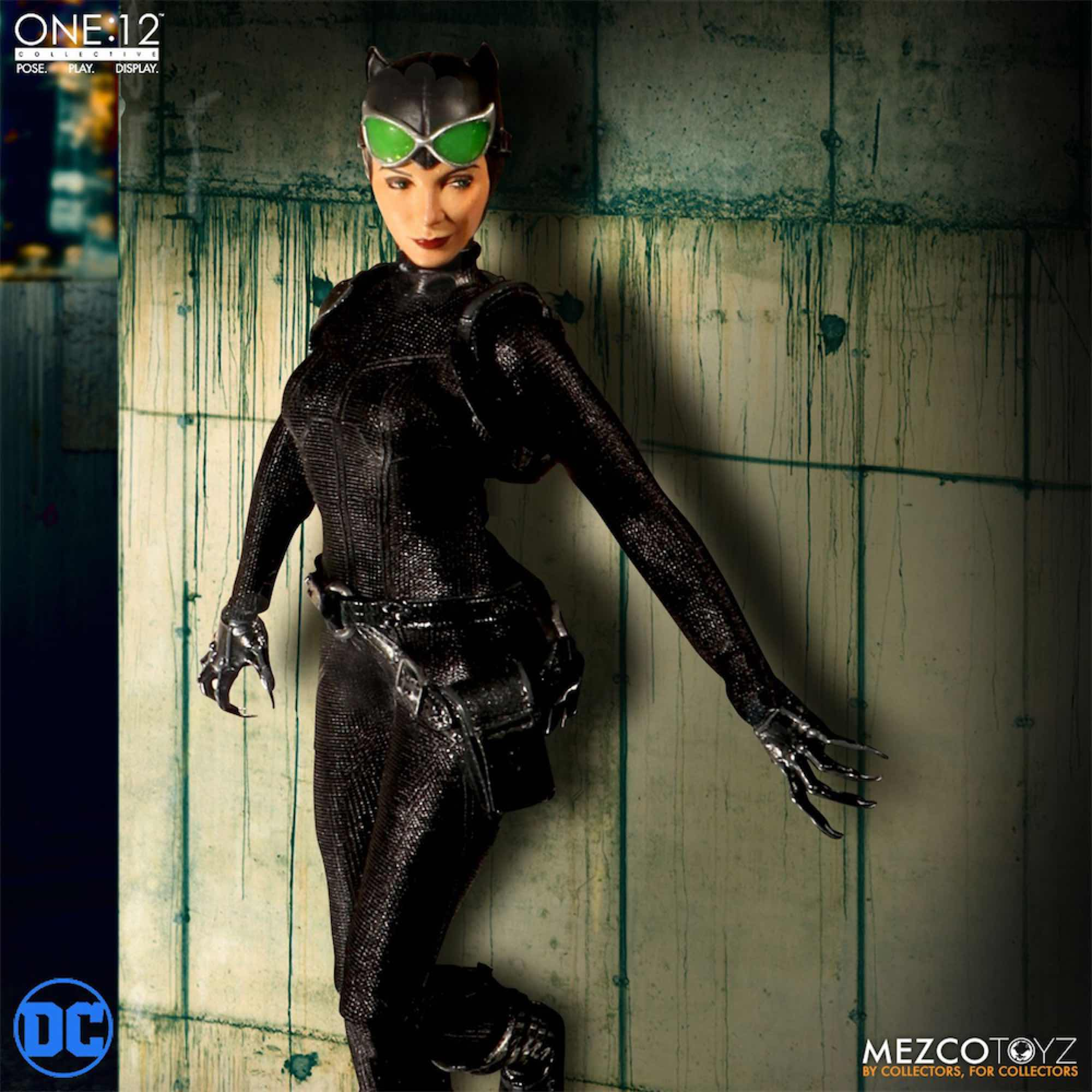 CATWOMAN FIGURA 16 CM UNIVERSO DC THE ONE:12 COLLECTIVE
