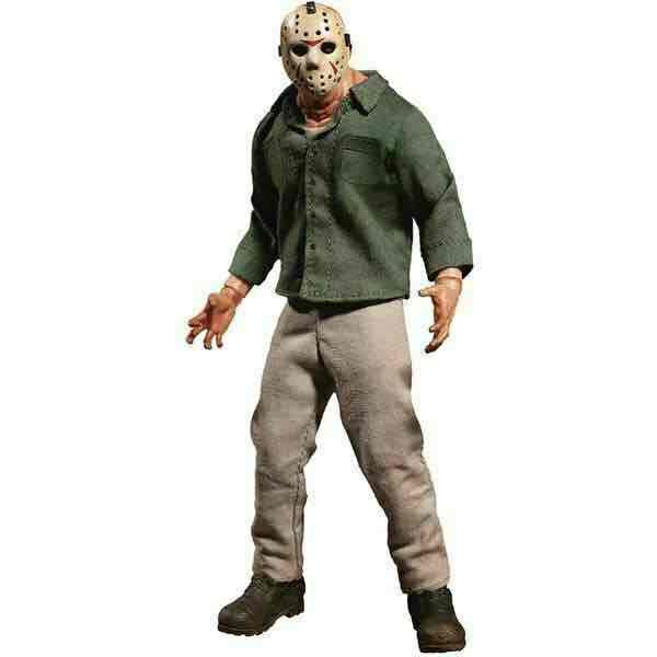 JASON VOORHEES FIGURA 16 CM FRIDAY THE 13TH PART 3 THE ONE:12 COLLECTIVE