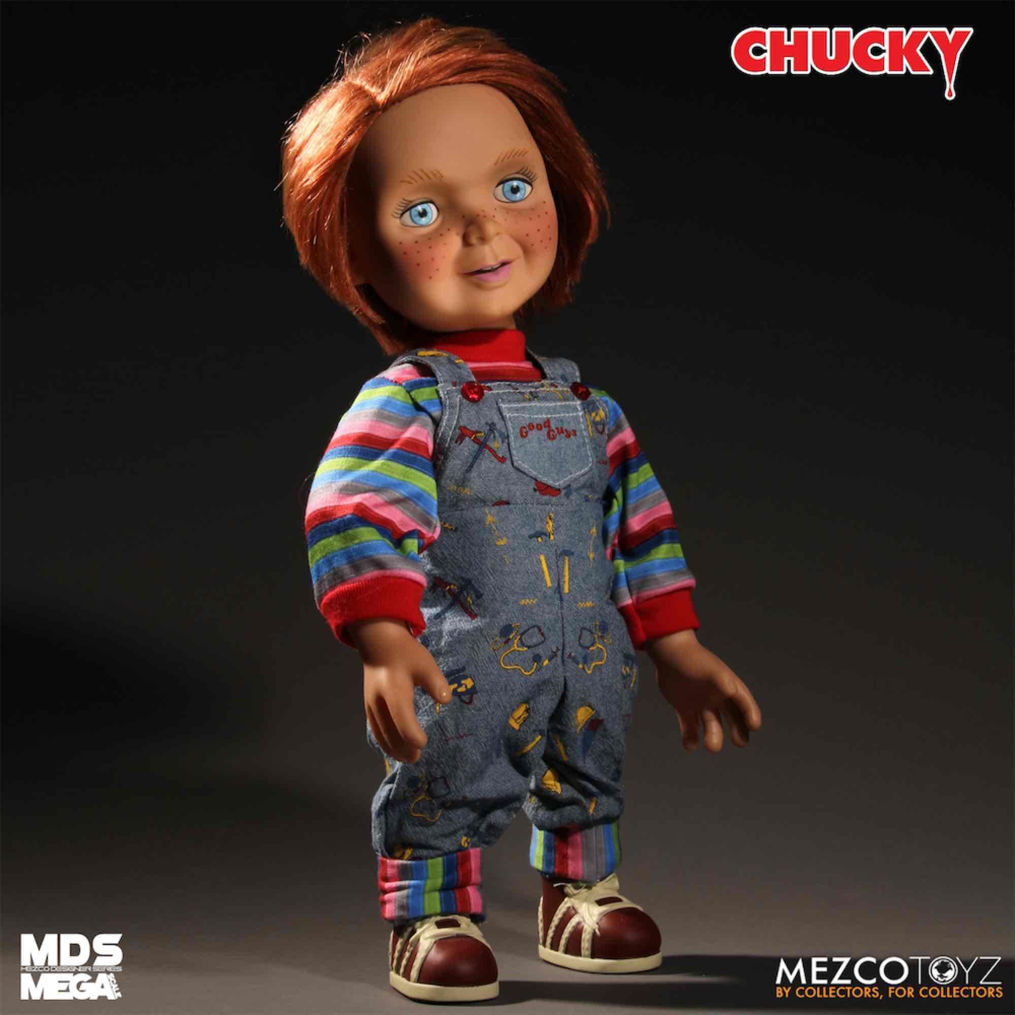 CHUCKY MUÑECO HAPPY FACE CON VOZ 38 CM GOOD GUY
