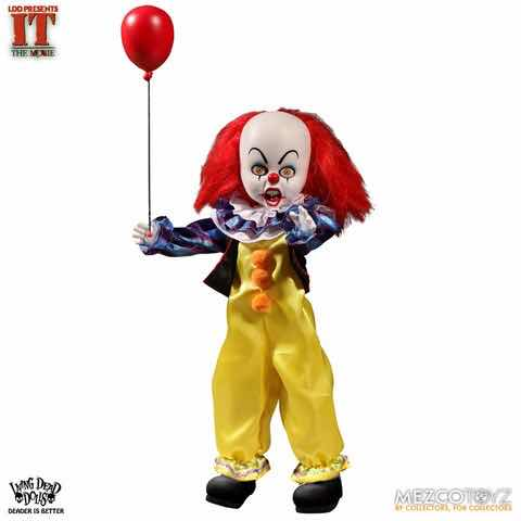 LDD PENNYWISE FIGURA 25 CM LIVING DEAD DOLLS IT 1990