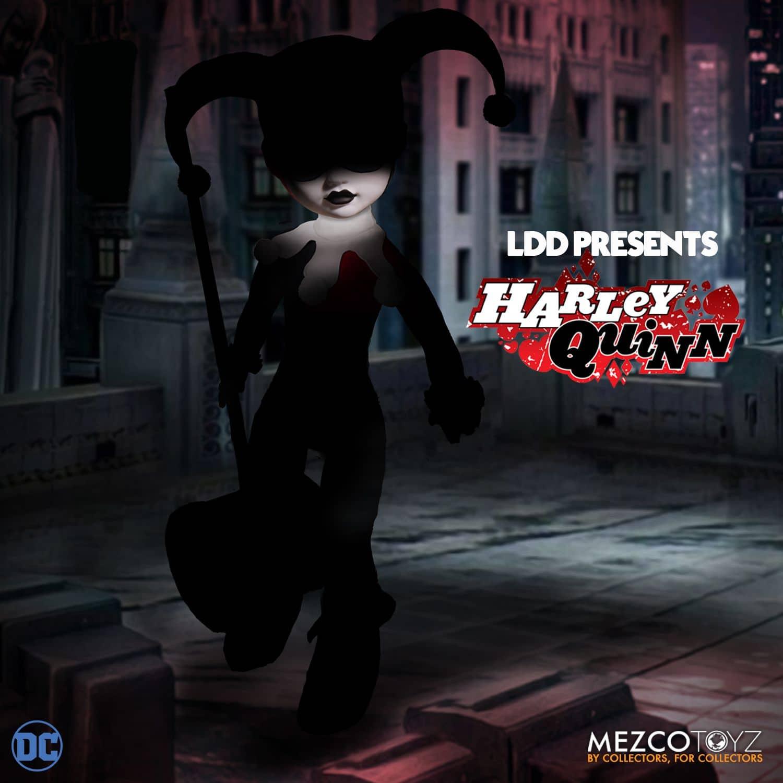 LDD HARLEY QUINN CLASICA FIGURA 25 CM LIVING DEAD DOLLS DC COMICS