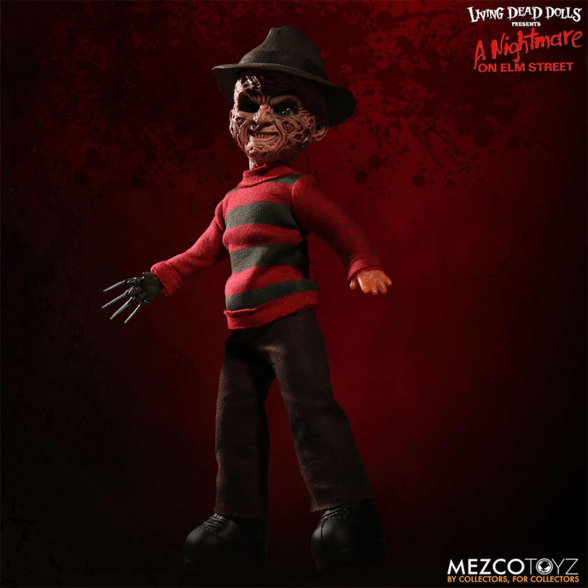 LDD FREDDY KRUEGER CON SONIDO FIGURA 25 CM LIVING DEAD DOLLS NIGHTMARE ON ELM STREET