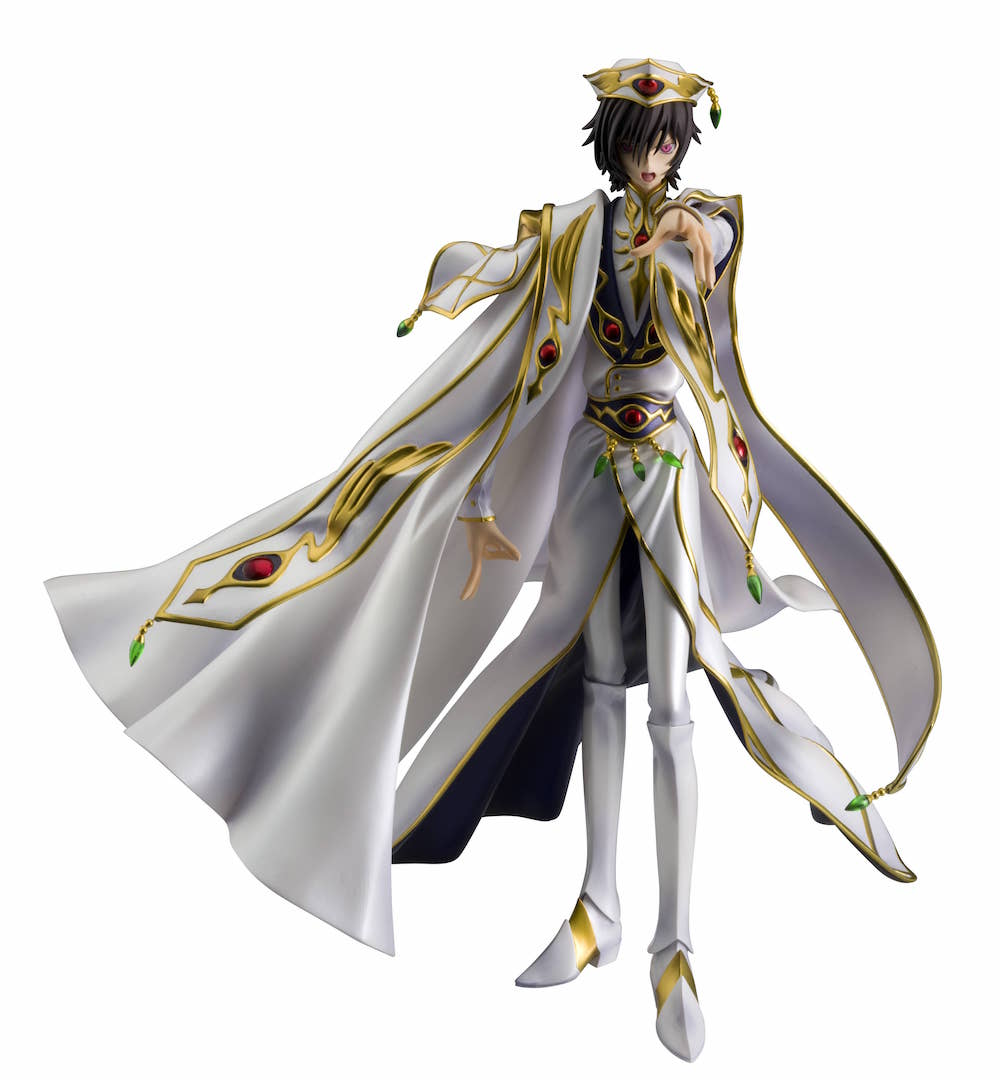 LELOUCH FIGURA CODE GEASS LELOUCH OF THE REBELLION R2 G.E.M. SERIES
